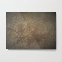 Rusted Panel 2 Metal Print