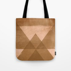 Distressed Triangles Tote Bag