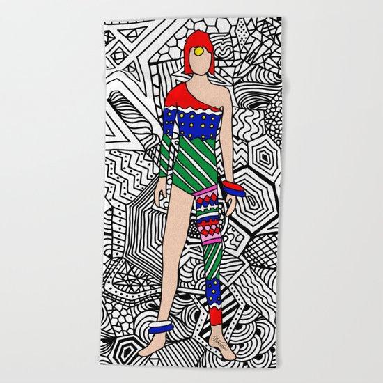 Bowie Fashion 7.5 Beach Towel