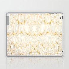Golden Feathers Laptop & iPad Skin