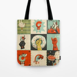 All the SIGNS of a REVOLUTION Tote Bag