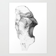 Fraction Art Print