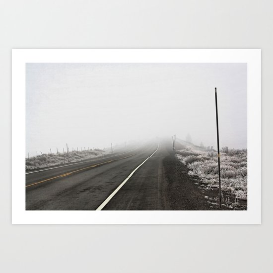 CA Route 267 Art Print