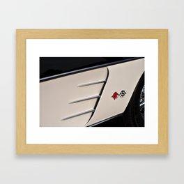 C1 Vette Framed Art Print