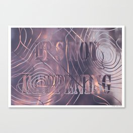 IT'S NOT HAPPENING 03b Canvas Print