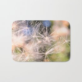 Dandelion Abstract Bath Mat