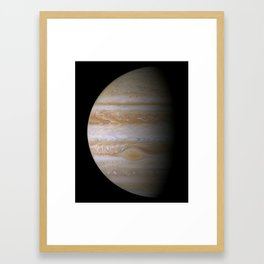 The Greatest Jupiter Portrait Framed Art Print
