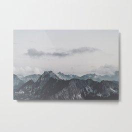 Calm - landscape photography Metal Print