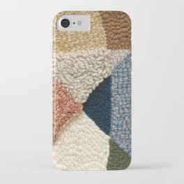 Interests Collide Rug Hooked Art iPhone Case