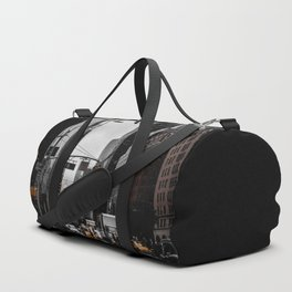 Foggy Day In The City Duffle Bag