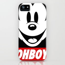 Oh Boy! iPhone Case