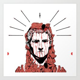 Caligula Art Print