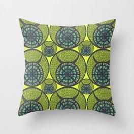 Taurus Zodiac Symbol Throw Pillow