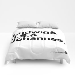 The 3 Bs v2 Comforters