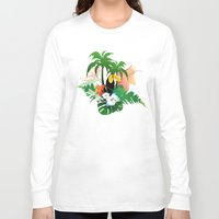 toucan Long Sleeve T-shirts featuring Toucan by nicky2342