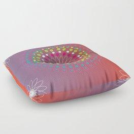 Dot Mandala Floor Pillow