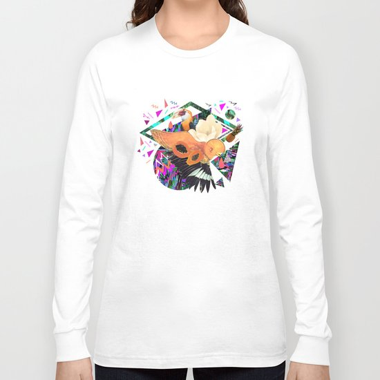 PAPAYA by Carboardcities and Kris tate Long Sleeve T-shirt