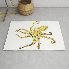 Blue-ringed Octopus (Octopussy) Rug
