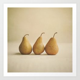 Bosc Pears Art Print