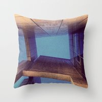 barcelona Throw Pillows featuring barcelona by xp4nder