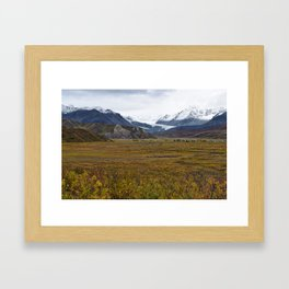 Isabell Pass Glaciers Framed Art Print