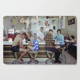 1960's Coffee Shop in the Safari Motel, Ocean City MD, Retro Motel Cutting Board