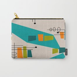 Mid-Century Modern Abstract Carry-All Pouch