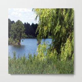 Idyll on the Lake Metal Print
