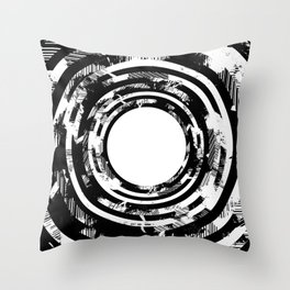 'UNTITLED #08' Throw Pillow