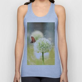 Allium fantasy flowers Unisex Tank Top