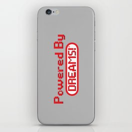 Powered By Dreams iPhone Skin