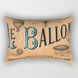 Le Ballon Rectangular Pillow