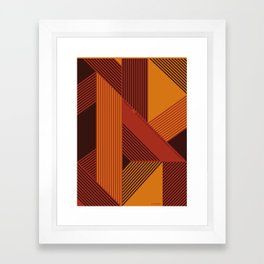 Design is a Mix Framed Art Print