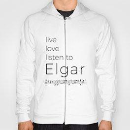 Live, love, listen to Elgar Hoody