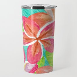 Plumeria love Travel Mug