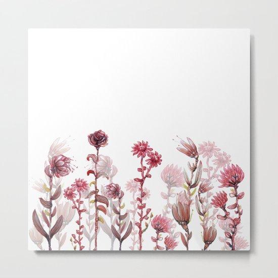 flowers 4 Metal Print