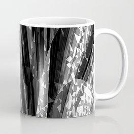 Crystal Floral Black Coffee Mug