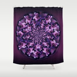 Blossom Two (The Freedom to Love Freely) Shower Curtain