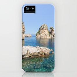 Tonnara Scopello iPhone Case