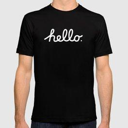 Hello: The Macintosh Office (Beige) T-shirt