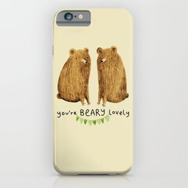 Beary Lovely iPhone Case