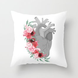 The Stone Sprout Throw Pillow