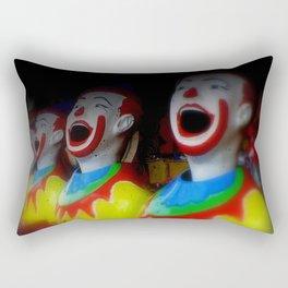 Laughing Clowns Rectangular Pillow