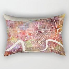 New Orleans map Rectangular Pillow