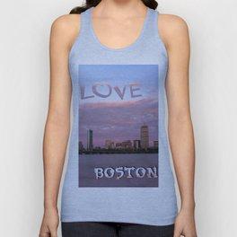 Love Boston Unisex Tank Top