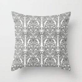 The Grand Salon, Ghost Throw Pillow