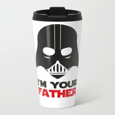 Darth Vader, Father, Wars Metal Travel Mug
