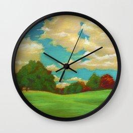 Prospect Park Long Meadow Wall Clock