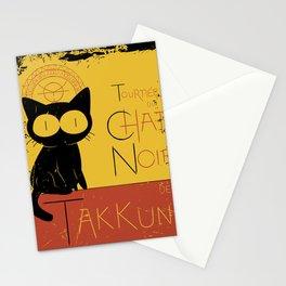 Chat Noir de Takkun Stationery Cards