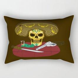 Mexican skull Rectangular Pillow